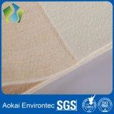 Un ago non tessuto da 450 GSM Aramid ritenuto per i sacchetti filtro del collettore di polveri