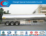 3 essieux en alliage aluminium semi-remorque de réservoir de carburant