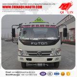 Capacité de 5100L Camion-citerne à carburant pour carburant diesel / essence