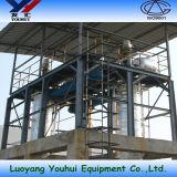 Оборудование вакуумной перегонки одиночного этапа для используемого автотракторного масла рециркулируя машину (YH-25)