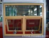 Qualitäts-europäische Standardart-feste Eiche/Teakholz-hölzernes plattiertes Aluminiummarkisen-Fenster für Wohngebäude