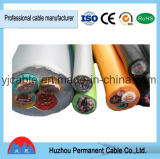 H05VV-F 2*0,75 mm, 2*1,5 mm2, 2*1mm, de 2,5 mm, 2*2*4mm; 2*6mmelectric Rvv cable
