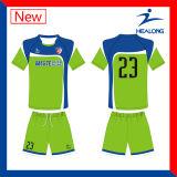 Chemises bon marché de maison de vitesse d'habillement des prix de Healong Chine/loin du Jersey du football de sublimation