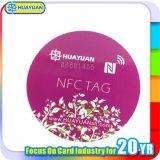 Escritura de la etiqueta adhesiva de papel de la identificación NFC de RFID NTAG203