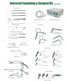 2016 Novos kits de exame e cirurgia anorreratais (38PCS)