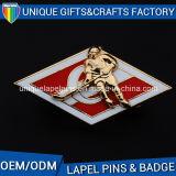 Distintivo poco costoso del metallo di vendita dei regali del ricordo