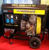 5kw/5kVA generador de tipo abierto/Generador Diesel