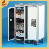 4 Wheels Aluminium Inflight Aircraft Aircraft Catering Cart