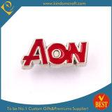 주문을 받아서 만들어진 은 사기질 편지 Pin 기장 또는 접어젖힌 옷깃 Pin