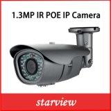 1.3MP Poe IP IR防水ネットワークCCTVの機密保護の弾丸のカメラ(WH8)