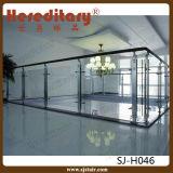 Pasamano de cristal helado certificado Ce del acero inoxidable para el balcón (SJ-H009)