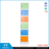 Mingxiu 6 Kabinetten van de Kasten van het Staal van de Deur School Gebruikte/Kast van de Kast van het Metaal