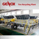Sistema di riciclaggio della gomma/riciclare riga/riciclare macchina