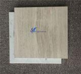 Marmo di legno bianco naturale Polished del grano