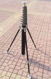 Manueller mechanischer Portable, Leuchte, leichte Kohlenstoff-Faser-anhebender Mast, Pole