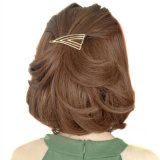 نمو مجوهرات نوع ذهب يصفّى مثلث دبّوس شعر شعر شريكات