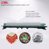 Cblの高速コンピュータ化された平らな刺繍機械