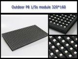 Cores exteriores P8 SMD LED3535 Módulo impermeável