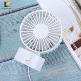 Couleur personnalisée 2W La table Mini ventilateur portable USB