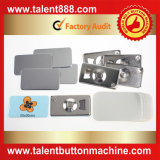 Botón rectangular 50X90mm Pin