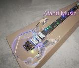 Música de Afanti/guitarra eléctrica de acrílico del LED Jem (AAG-055)