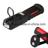 Nachladbarer 3W PFEILER LED, der helle magnetische Unterseite, Rückseite bearbeitet