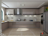 2016 Welbom Affordable Modern MDF Lacquer Kitchen Cabinet Design
