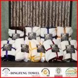 Double Layer Blanket Coral Fleece e Wool Terry Loop