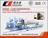Cadena de producción del tubo del HDPE del quilate