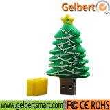 Os melhores acessórios de computador do USB do PVC do costume do Natal do preço para o presente