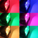 luz de inundación teledirigida de 2.4G RF RGBW 50W 90W 190W LED compatible con el puente de WiFi