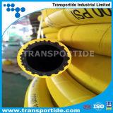 Gelber Gummischlauch für Luft/Wasser