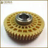 Таможня подвергла впрыснутые пластичные шестерни механической обработке зуба шестерни шпоры прямые
