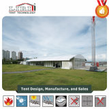15m X 20m de Gebouwen van de Tent Arcum met de Deuren van het Glas en de Muren van het Glas voor Gebeurtenissen