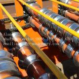 Chaîne de production de roulis de panneau de mur de toit en métal ancienne