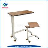 Stahlrahmen-Höhen-justierbarer Bett-Seiten-Tisch