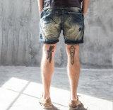 Pantaloni dei jeans sottile originale semplice degli uomini lavati più nuovo del classico dell'OEM svago bruscamente