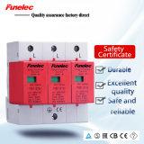 Защита от перенапряжения SPD электрической системы AC385V 1p 2p 3p 80ka