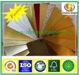 350 GSM золотой бумаги на основе металлических блестящих золотая фольга картона