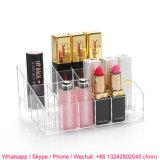 De duidelijke AcrylDoos van de Make-up/de Doos van de Lippenstift