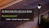 5 лет гарантии 100Вт Светодиодные лампы 360 градусов светодиодный индикатор для кукурузы