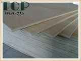 1220*2440 (4*8) madera contrachapada comercial de la chapa del abedul de la base del álamo de 2.7/3.6/4.5/5.2m m con el pegamento E0/E1 para los muebles/la decoración