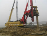 22ton Rotary Drilling Rig für max 65m Pile CAT Base