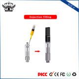 Verstuiver van de Pen van Cbd Vape van de Patroon van de Olie van de Hennep van de Rollen van de Aanraking 0.5ml van de knop de Beschikbare Dubbele