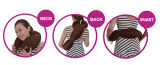 Подушка шеи Massager/перемещения вибрации электрической батареи управляемая