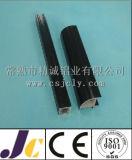 6082 T6 Profil en aluminium anodisé noir (JC-P-10095)