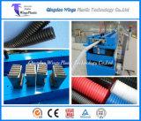 プラスチック10-32mm単一の壁の波形の管の放出ライン/管のCorruagtorのプラスチック機械装置