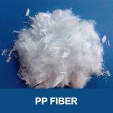 De Vezel van het Polypropyleen van pp die in Concreet Mortier wordt gebruikt