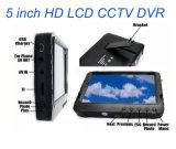 5 CCTV DVR, nessuno schermo blu, ricevente senza fili Te968h dell'affissione a cristalli liquidi di pollice HD di avoirdupois