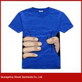 Camisas de T feito-à-medida do poliéster da impressão do Sublimation (R112)